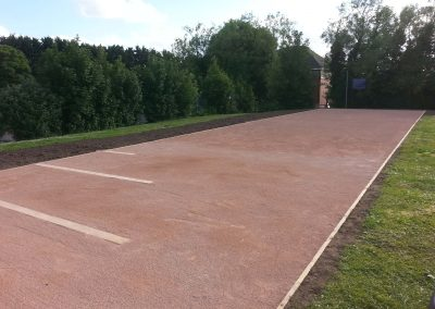 running track surface suppliers Wiltshire