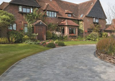 Alpha Antique Silver Haze block paving Wiltshire