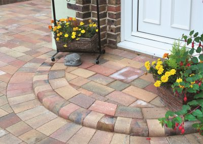 Beta Autumn Gold block paving Wiltshire