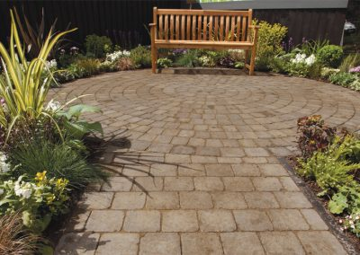Alpha Antique Burnt block paving Wiltshire