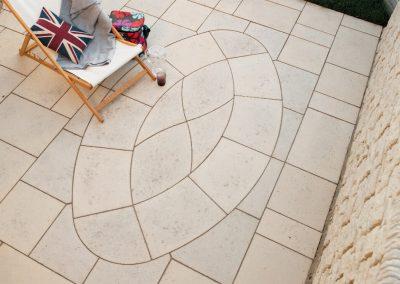 Baroque Oval paving Swindon