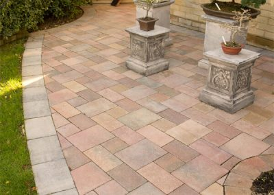 Beta Autumn Mix block paving Wiltshire