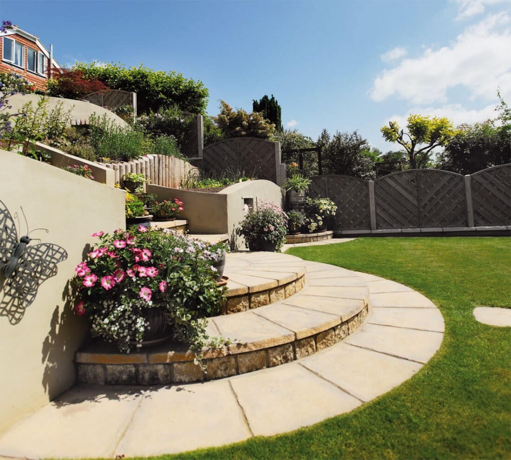 country gold slabs and pavers Wiltshire