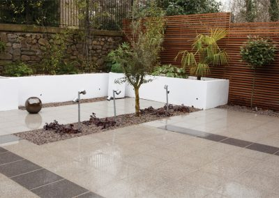 Moderno Grey modern paving slabs Swindon