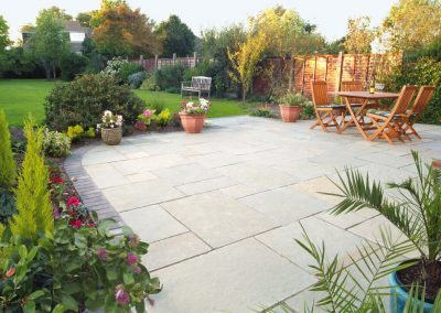 Ocean Spray paving slabs Swindon