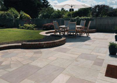 Raveena patio and paving slabs Swindon