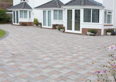 Regatta Silver Haze block paving Swindon