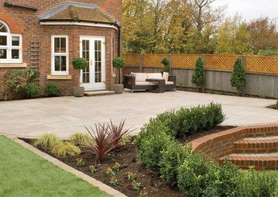 Rustic Pearl paving slabs Swindon
