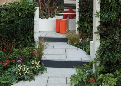 Silver Grey Granite paving slabs Swindon